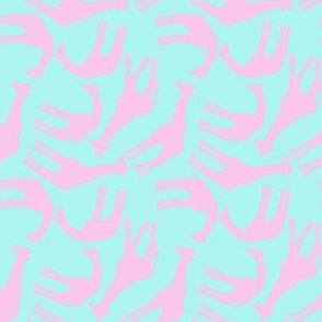 Little Pink Giraffes