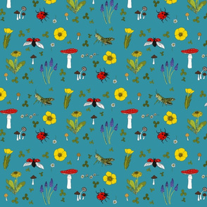 Meadow - turquoise