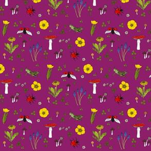Meadow - dark pink