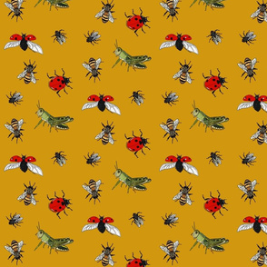 Insect repeat honey
