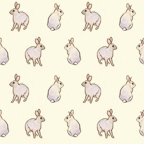 Wild Rabbits - Cream [Small]