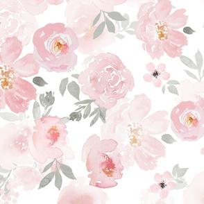 Pastel Floral Border
