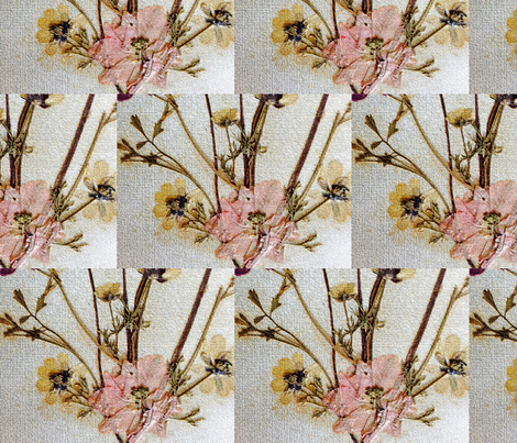 Vintage Blossoms fabric by world_class on Spoonflower - custom fabric