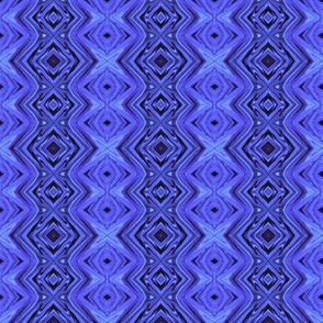 GP10  -  Geometric Pillars in Periwinkle Blue