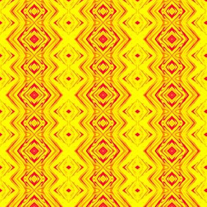GP2 - Geometric Pillars of Fire - Yellow - Red