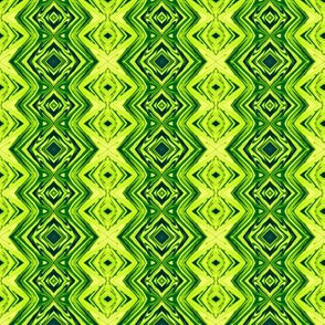 GP1 -  Geometric Pillars in Yellow Green