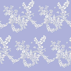 Miao Miao Toile blue violet