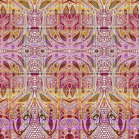 Do Not Color Inside the Lines fabric by edsel2084 on Spoonflower - custom fabric