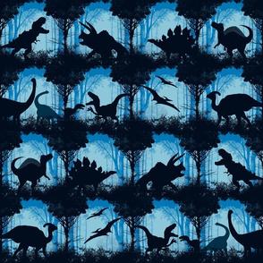 Dino-monotone-hues