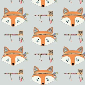 Southwest Fox Baby Nursery – Cute Tribal Animals GingerLous