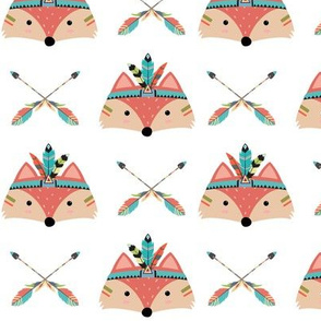 Tribal Fox Arrows Nursery Southwest Baby