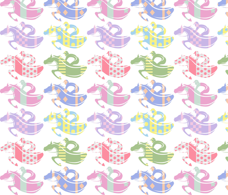 Race the Patterns fabric by shapeshifter_studios on Spoonflower - custom fabric