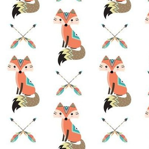 Southwest Baby Nursery – Cute Tribal Fox