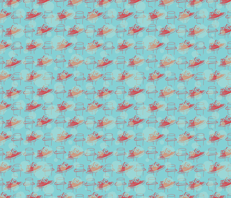 Off_to_the_races-01 fabric by uniqueheartboutique on Spoonflower - custom fabric