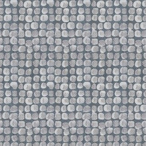 grey blue Stones fabric tile