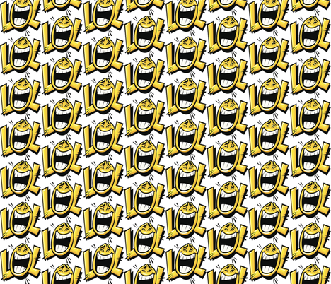 lol fabric by whimzwhirled on Spoonflower - custom fabric