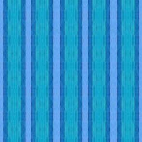 vertical turquoise and blue stripe