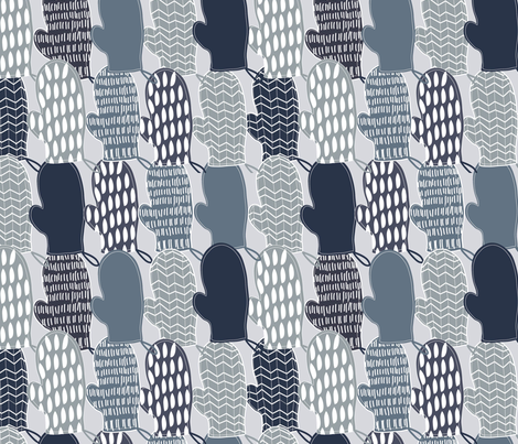 Bbq Mits fabric by cathleenbronsky on Spoonflower - custom fabric