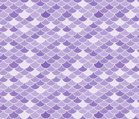 Mermaid Tail fabric by danylle_designs on Spoonflower - custom fabric