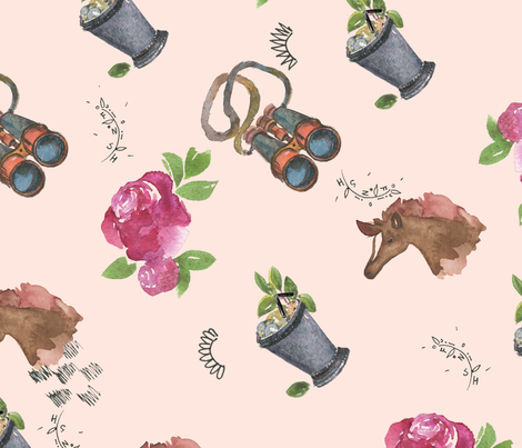 Go baby! fabric by sofiasonice on Spoonflower - custom fabric