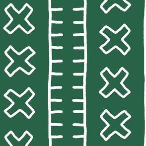 African Mud Cloth // Jade // Large