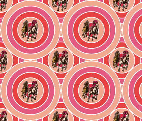 Racing into the Winners Circle fabric by kedoki on Spoonflower - custom fabric