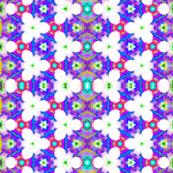Ultraviolet flower maze