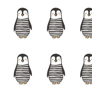 24 Penguins 6 inch  Pillow Plush Plushie Softie Cut & Sew