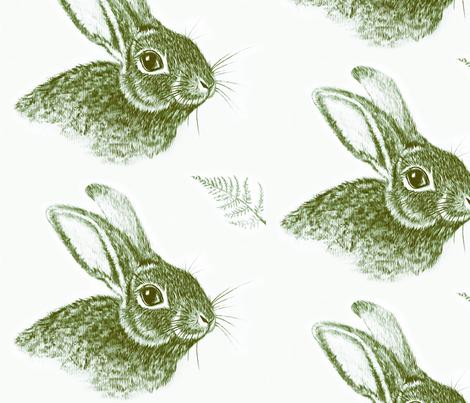 Harepaintbrn fabric by flora_of_elora on Spoonflower - custom fabric