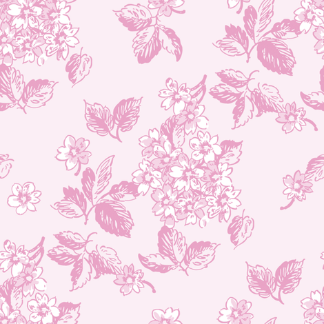 Sloane sorbet fabric by lilyoake on Spoonflower - custom fabric
