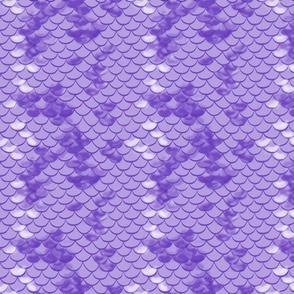 Purple Fish Scales