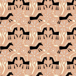Cut Out Horses