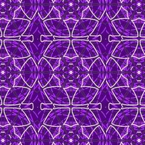mandala purple drawering-ed
