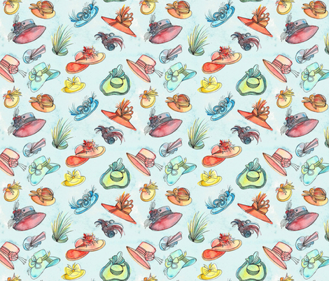 Ascot Gavotte fabric by anniedrawsthings on Spoonflower - custom fabric