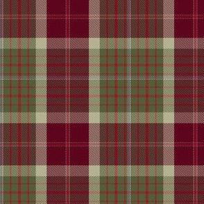 Red Thistle Scottish Tartan