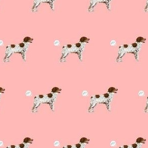 brittany spaniel dog breed funny fart pink