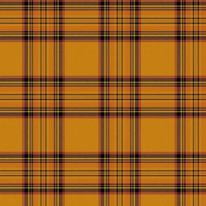 Royal Pumpkin Spice Scottish Tartan