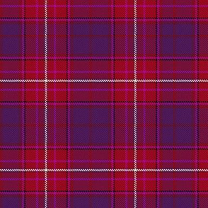 Red Hat Purple Thistle Scottish Tartan