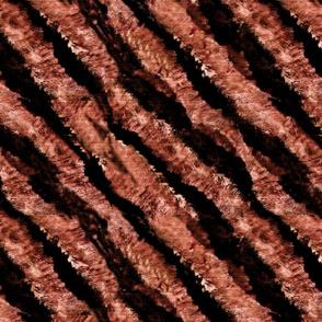 Endangered Tiger stripes desaturated