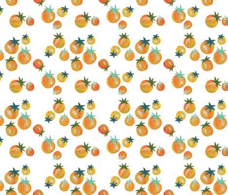 Sungolds  fabric by mollyccostello on Spoonflower - custom fabric