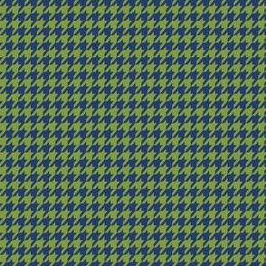 Cobalt Kelly Houndstooth Small