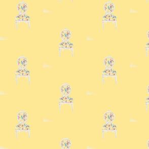 Mexican Birds. yellow
