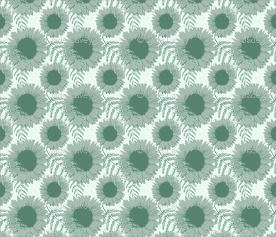 Monochromatic Sunflowers (1)