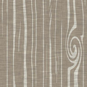 weathered woodgrain - natural taupe