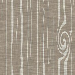 weathered woodgrain - natural taupe