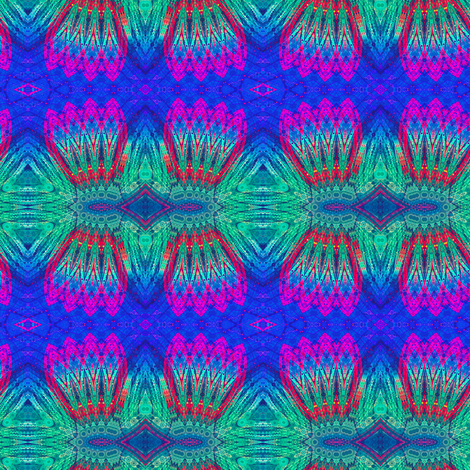 Peacocks on Parade fabric by whimsydesigns on Spoonflower - custom fabric