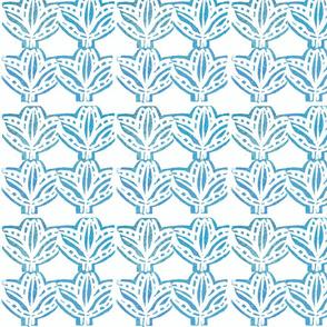 RETREAT FLOWER blue
