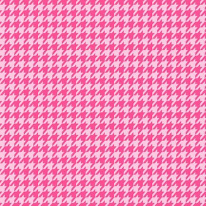 Houndstooth Pinks Small