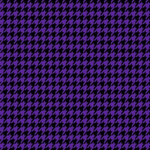 Dark Purple Houndstooth Small