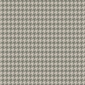 Grey on Grey Houndstooth Small